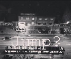 depression, jump, quote, quotes, sad, street, suicide, tram, zagreb
