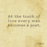 ... quotes sayings touch of love poet plato plato quotes sayings man