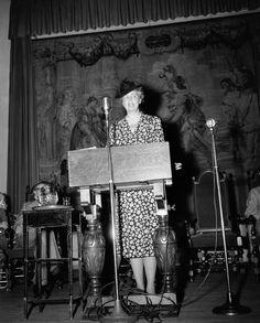 Eleanor Roosevelt During World War II, Eleanor Roosevelt supported the ...