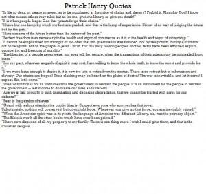 Patrick Henry Facts . Patrick Henry Biography . Apples4theteacher ...