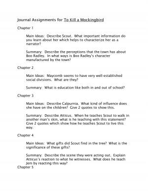 how to kill a mockingbird chapter 24