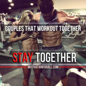 Couples that workout together STAY together. #fitness #motivation # ...