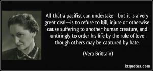 More Vera Brittain Quotes