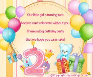 Happy 2nd Birthday Wishes To My Niece 2nd birthday wishes