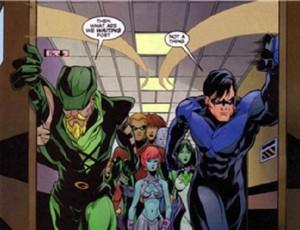 Green Arrow Vs Nightwing Green-arrow-nightwing
