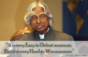 APJ Abdul Kalam's inspiring quotes