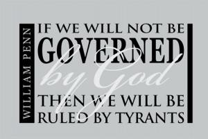 God Patriotic William Penn...