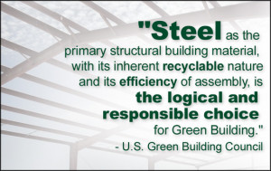 Building Green Churches with Steel | Rhino Steel Building Systems