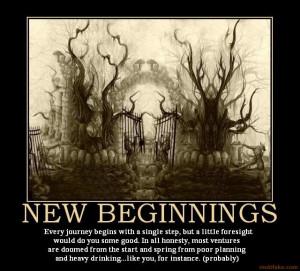 NEW BEGINNINGS -