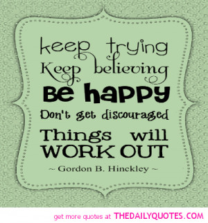 Keep Trying Love Quotes Keep trying