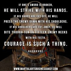 Now that's courage! Want to start a martial art school, but can't find ...
