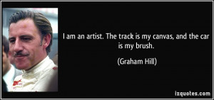 Graham Hill Quote