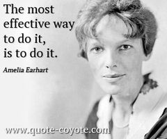 Amelia Earhart quotes - Google Search