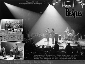 February 11, 1964, the Beatles perform their 1st U.S. concert at the ...