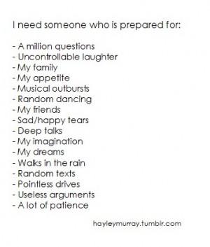 needing someone quotes