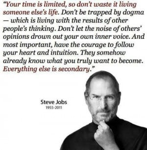 Steve Jobs Leadership Quote