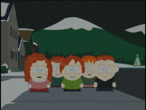 ... ginger kids when cartman asked about if they know any famous ginger