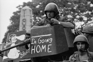 Today in 1973 the last US combat troops left South Vietnam. These are ...
