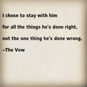 possibly my favorite quote from the vow
