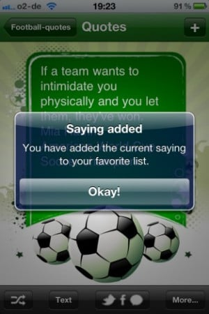 Footballquotes - All Jokes, Sayings and Quotes about Soccer