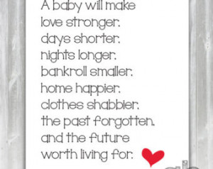 New Baby Poem - Baby Shower Poem - Poem for New Parents - Instant ...
