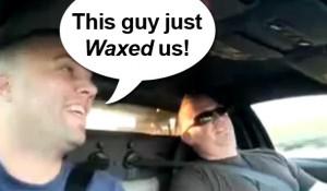 Lamborghini vs CRX - Sweet Footage of Lambo Guys Playing with a Honda