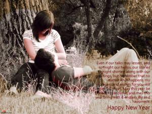 New Year Greetings for Boyfriend