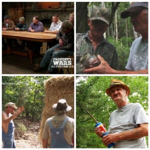 Hay bale trick, Jim Tom,Mark & Secret Summit #Moonshiners