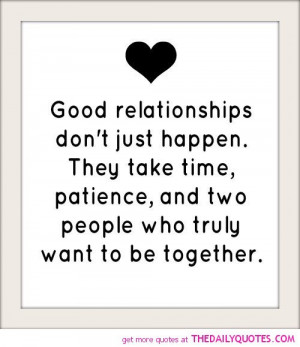 Sayings About Relationships Good relationships