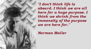 Norman mailer famous quotes 1