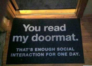 Greet Your Visitors With Funny Door Mats