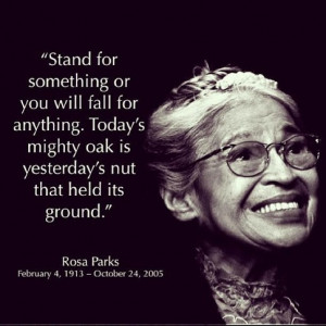 Happy 100th birthday, Rosa Parks - Quotables - Quora