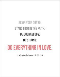 Bible verses on love Corinthians