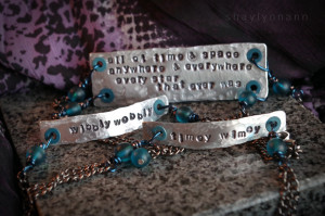 ... metal stamping kit to create jewelry with awesome quotes and sayings i