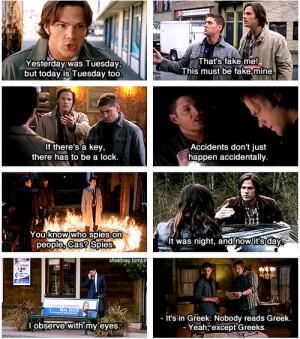 Supernatural Supernatural Quotes