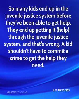 So many kids end up in the juvenile justice system before they've been ...