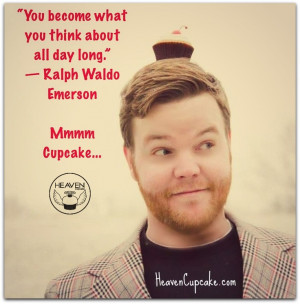 inspirational quotes, cupcake style