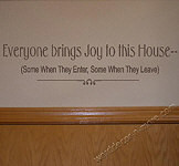 ... Humorous, Removable Vinyl Wall Words & Funny Inspirational Quote