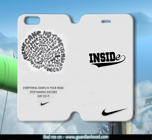 nike logo and quotes Flipcases for iPhone 4/4S, iPhone 5/5S, iPhone 5C ...