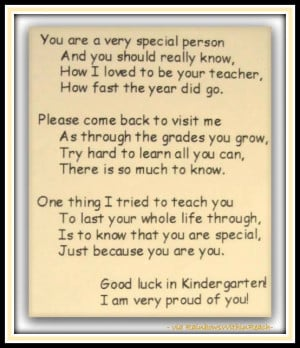 photo of: Preschool End of Year Poem at RainbowsWithinReach