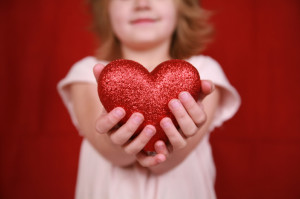 That's because it's Giving Hearts Day , a wonderful opportunity ...