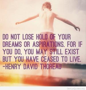 dreams and aspirations essay