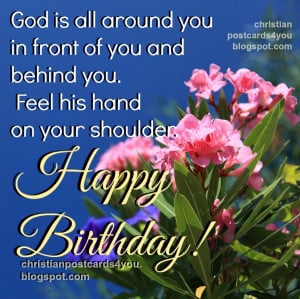 Nice Christian Quotes on your Birthday | Free Christian Cards for You