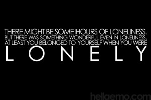 Emo Lonely Quotes