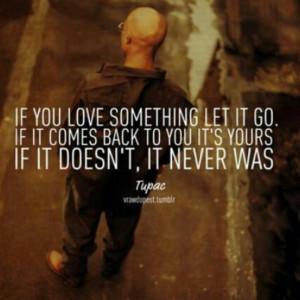 Tupac on love