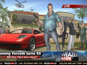 ... Tommy Vercetti pc games Grand Theft Auto Vice City Stories wallpaper