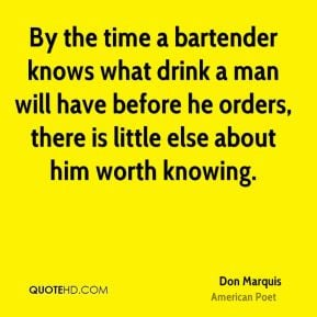 Bartender Quotes