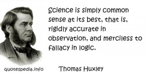 Famous quotes reflections aphorisms - Quotes About Logic - Science is ...