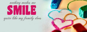 Facebook Timeline Cover Of Smile Quote.