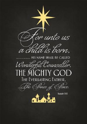 Unto Us A Child Is Born